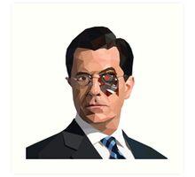 Stephen Colbert Terminator Art Print