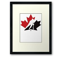 Canada Hockey team  Framed Print