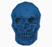 Blue Skull by Carissa Roby