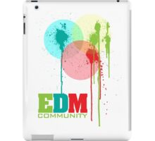 EDM Community (interacting bubbles) iPad Case/Skin