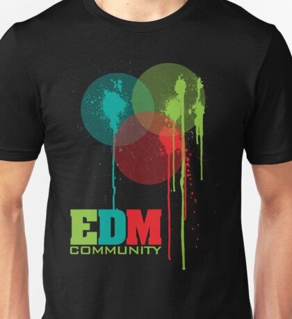 EDM Community (interacting bubbles) Unisex T-Shirt