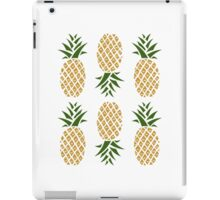 Pineapples (six) iPad Case/Skin