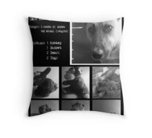 Victims Unit Throw Pillow