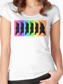 Dance Bear Women's Fitted Scoop T-Shirt