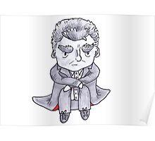 Grumpy Capaldi Poster