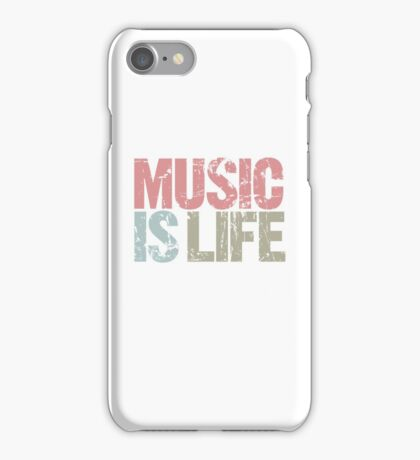 Music is Life (Special Edition) iPhone Case/Skin