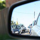Traffic reflection  by Michael  Regan