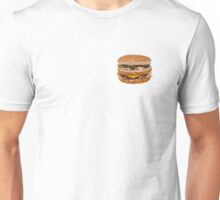 Cheese Burger in Polygons Unisex T-Shirt