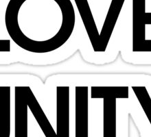Peace Love Unity Respect (PLUR) Sticker
