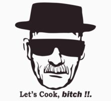 Walter White Let's Cook Breaking Bad  by april nogami