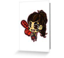 the vampire diaries CARTOON Greeting Card
