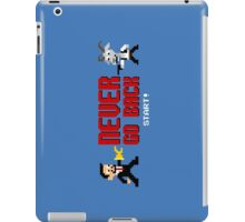 Never Go Back iPad Case/Skin