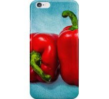 Red Bell Peppers iPhone Case/Skin