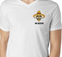 MO-HEATOS (Crest style) Mens V-Neck T-Shirt