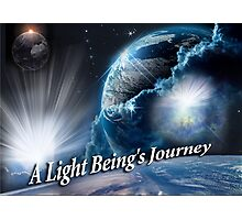 A Light Being's Journey Photographic Print