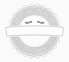 Official Seal Of Awesomeness Kids Clothes