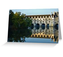 Château de Chenonceau Reflection Greeting Card