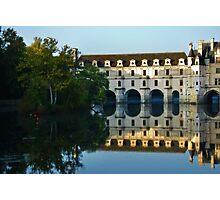 Château de Chenonceau Reflection Photographic Print