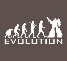 Custom darwin evolution of Robot new funny t-shirt by april nogami