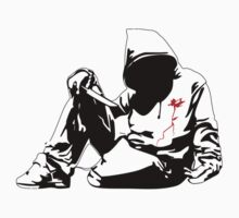 new Banksy art on t-shirt by april nogami