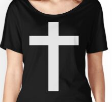 Faith (white) Women's Relaxed Fit T-Shirt