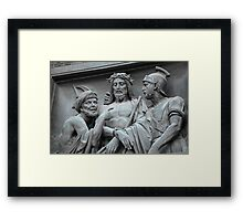 betrayal of Judas Framed Print