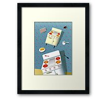 Time to cook! Framed Print