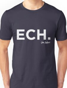 ECH White Unisex T-Shirt