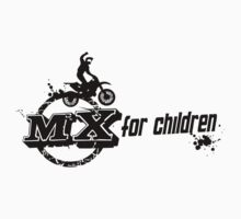 new MX for children Challenge lifestyle t-shirt by april nogami