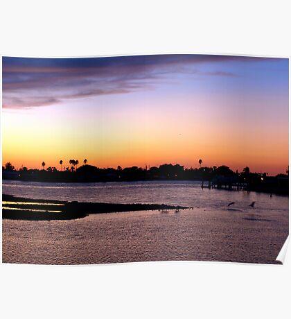 Coastal hues Poster