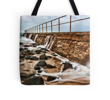 ocean bath Tote Bag