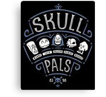 Skull Pals Canvas Print