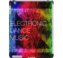 Electronic Dance Music iPad Case/Skin
