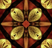 Steampunk Kaleidoscope 4 Sticker