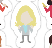 The Parks and Rec Family Sticker