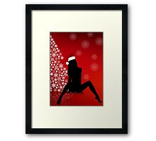 Sexy Christmas Framed Print