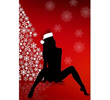 Sexy Christmas Photographic Print