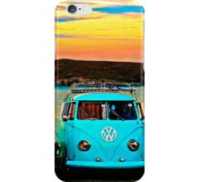 Iconic VW & Sunset. iPhone Case/Skin