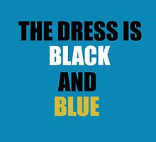 #TheDress - Black/Blue and White/Gold  by MrKent