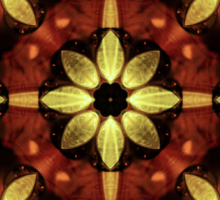 Steampunk Kaleidoscope 2 Sticker