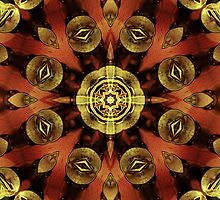 Steampunk Kaleidoscope by SRowe Art
