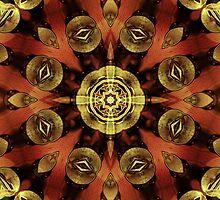 Steampunk Kaleidoscope by SRowe Art