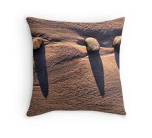 Mini Monoliths Throw Pillow