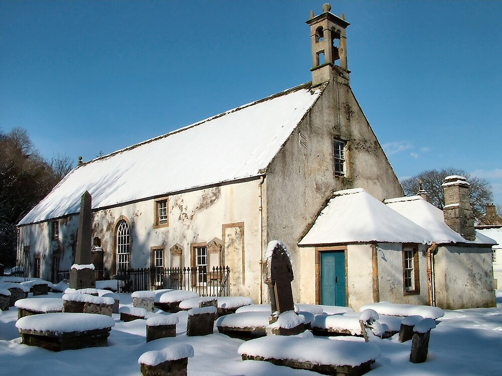 East Kirk in winter by Calum Davidson