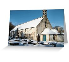 East Kirk in winter Greeting Card