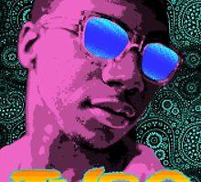 Pixel Art Lil B by RadRecorder