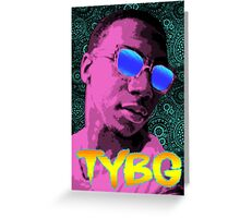 Pixel Art Lil B Greeting Card