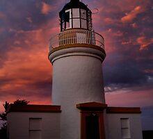 Lighthouse evening by Calum Davidson