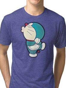 Doraemon, The Cosmic Cat Tri-blend T-Shirt