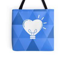 Heart Lamp - Blue Version Tote Bag